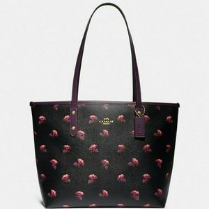🌷{NEW}● Authentic COACH Bag ● Bell Flower Print🌷